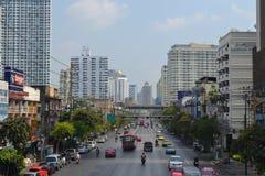 Petchaburi areal bangkok Royaltyfri Foto
