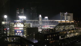 Petco park arena in San Diego stock footage