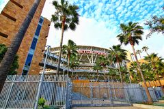 The Petco Park Baseball Stadium stock images