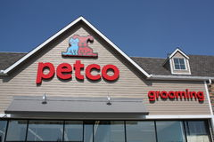 Petco Store Front Stock Image
