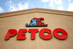 Petco store sign Stock Image