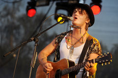 Pete Doherty Royalty Free Stock Images