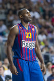 Pete Mickeal van FC Barcelona Royalty-vrije Stock Foto's