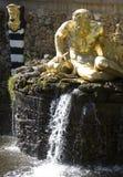 Pete petrodvorets fontann Fotografia Stock