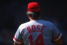 Pete Rose of the Cincinnati Reds. Portrait pop art photo royalty free stock photography