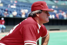 Pete Rose des Cincinnati Reds Photos stock