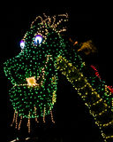 Pete's Dragon, Main Street Electrical Parade in Walt Disney World Стоковое Изображение RF