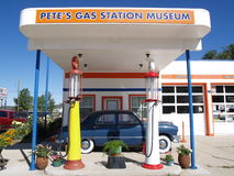 Pete's Gas station museum Stock Images