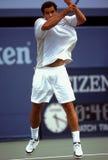 Pete Sampras, Tennis Pro. ATP tennis superstar Pete Sampras. (Image taken from color slide stock images