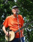 Pete Seeger Foto de Stock Royalty Free