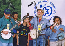 Pete Seeger Royalty Free Stock Photo