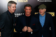 Pete Segal, Sylvester Stallone, Robert DeNiro Royalty Free Stock Photo