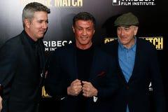 Pete Segal, Sylvester Stallone, Robert DeNiro Royalty Free Stock Photo