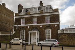 Pete Townshend Historic Home. Historic Wick House on Richmond Hill, West London.  Home to a number of celebrities including actor John Mills, Rolling Stone Stock Photo