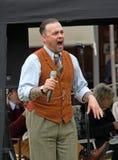 Pete wayre 1940 de zanger van de schommelingshulde Royalty-vrije Stock Foto