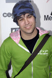 Pete Wentz on the red carpet Royalty Free Stock Image