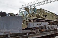 Petepaladin-Maschine SCHLÄGER 2 Nowosibirsk, Sibirien, Russland Lizenzfreie Stockbilder