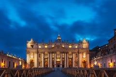 Peter świątobliwa katedra Obrazy Royalty Free
