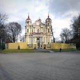 Peter και αρχαία εκκλησία του Paul σε Vilnius. στοκ φωτογραφίες με δικαίωμα ελεύθερης χρήσης