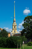 Peter και καθεδρικός ναός Αγία Πετρούπολη Ρωσία του Paul Στοκ εικόνες με δικαίωμα ελεύθερης χρήσης