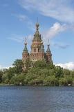 Peter και καθεδρικός ναός του Paul σε Peterhof, Ρωσία Στοκ Φωτογραφία