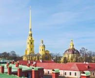 Peter και καθεδρικός ναός του Paul Στοκ φωτογραφία με δικαίωμα ελεύθερης χρήσης