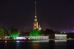 Peter και φρούριο του Paul - Άγιος-Πετρούπολη, Ρωσία Στοκ εικόνες με δικαίωμα ελεύθερης χρήσης