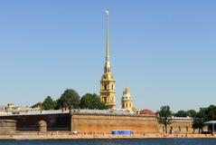 Peter και φρούριο του Paul - Άγιος-Πετρούπολη, Ρωσία Στοκ Εικόνες