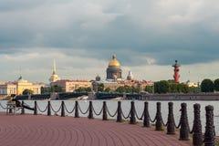 Peter και φρούριο του Paul, Αγία Πετρούπολη, Ρωσία, τον Ιούλιο του 2015 Στοκ Εικόνα