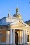 Peter και φρούριο του Paul στην Άγιος-Πετρούπολη, Ρωσία Στοκ Εικόνες