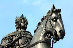 Peter 1 μνημείο στην Άγιος-Πετρούπολη Στοκ εικόνες με δικαίωμα ελεύθερης χρήσης