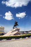 Peter 1 monument in Saint-petersburg Royalty Free Stock Photos
