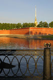 Peter And Paul Fortress. Stock Photos