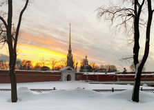 Free Peter And Paul Fortress Stock Photography - 18576792
