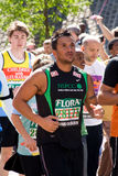Peter andre - 2009 london marathon. Peter andre running in 2009 london marathon stock photography