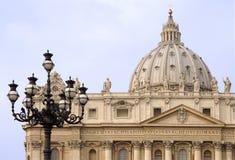 Peter bazyliki święty Fotografia Royalty Free