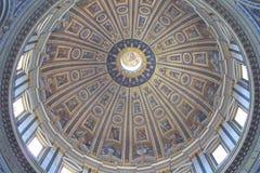 Peter bazyliki Rzymu jest st. Zdjęcie Royalty Free