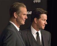 Peter Berg und Mark Wahlberg Score an der NBR-Preis-Gala Lizenzfreies Stockfoto