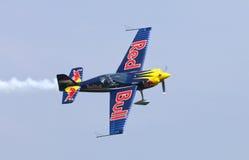 Peter Besenyei od Węgry na Airshow fotografia royalty free
