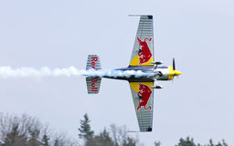 Peter Besenyei od Węgry na Airshow zdjęcia royalty free