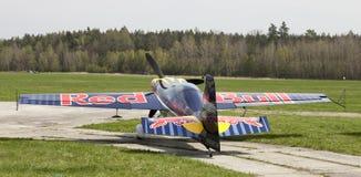 Peter Besenyei od Węgry na Airshow Obrazy Stock