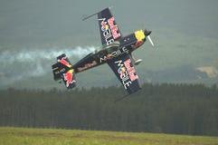 Péter Besenyei piloting Extra 300S Stock Photos