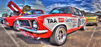 Peter Brock Holden race car Stock Images