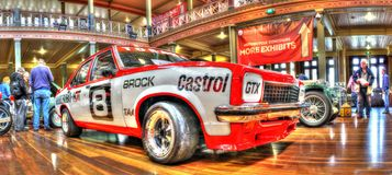 Peter Brock Holden Torana samochód wyścigowy zdjęcie stock