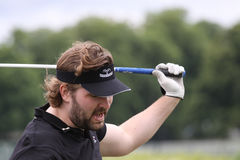 Peter Calborg, European long drive contest Stock Photography