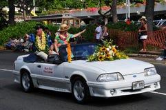 Peter Carlisle, burgemeester verkiest van aloha Stock Foto