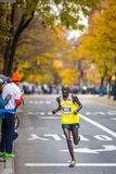 Peter Cheruiyot Kirui (Kenya) runs the 2013 NYC Marathon Royalty Free Stock Images