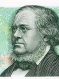 Peter Christen Asbjornsen portrait from Norwegian money Royalty Free Stock Photography