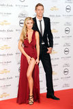 Peter Crouch,Abbey Clancy Royalty Free Stock Photos