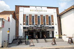 Peter cushing wetherspoon pub Royalty Free Stock Photo